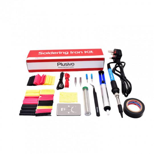 Basic Soldering Kit for Electronics (230 V, Plug Type: UK)