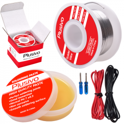 Plusivo Solder Wire and...