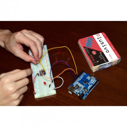 Plusivo Resistor Assortment Kit - 10 Ω To 1 MΩ (600pcs)