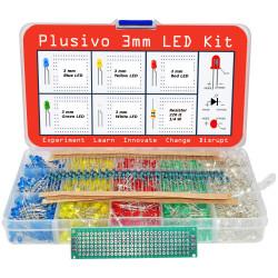 Plusivo 3mm Diffused LED...