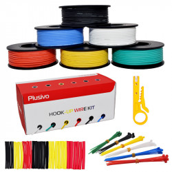 24AWG Hook up Wire Kit -...