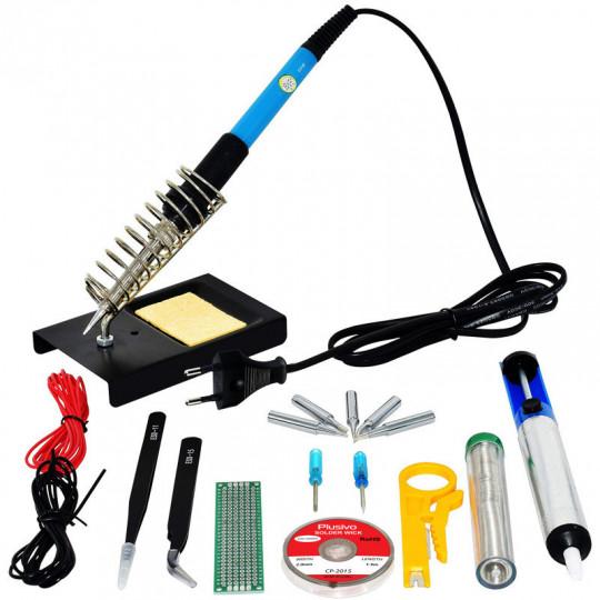 Soldering Kit For Electronics (230 V, Plug Type: EU)