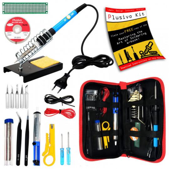 Soldering Kit For Electronics (Plug Type: EU)